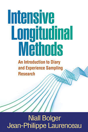 Book cover for Intensive Logitudinal Methods by Bolger and Laurenceau