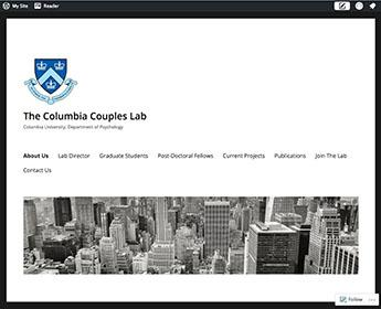 Bolger: Columbia Couples Lab