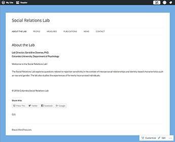 Lab Websites | Department of Psychology