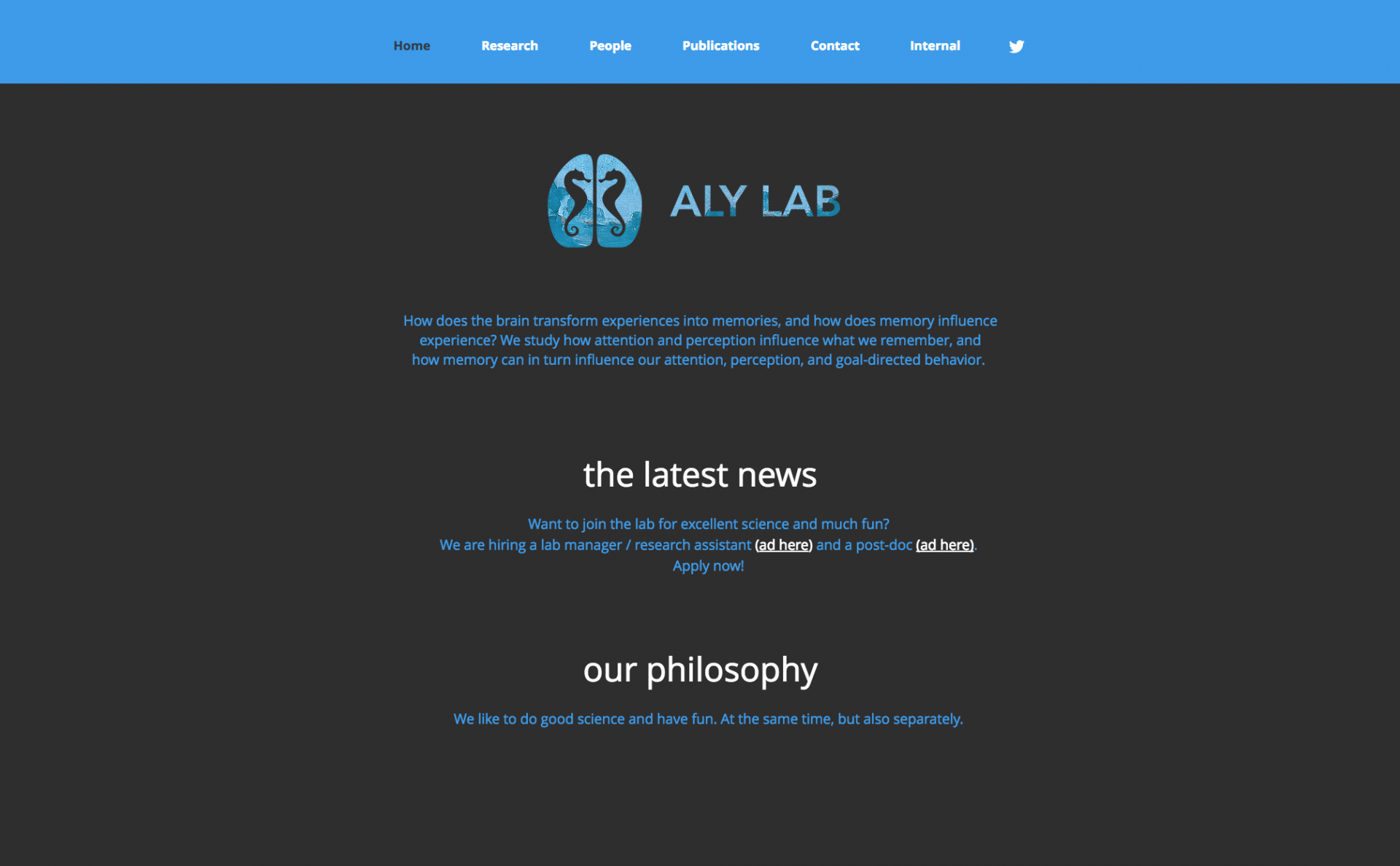 Psychology of communication: a selection of sites