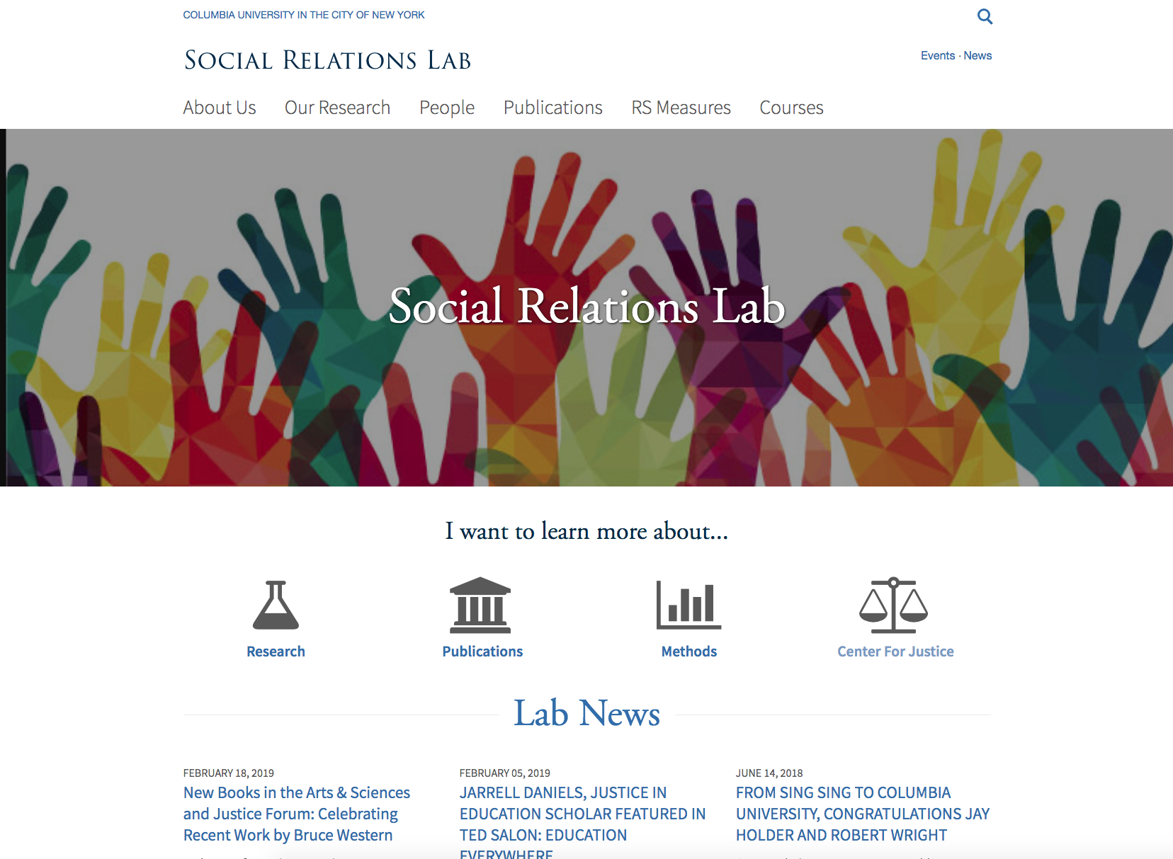 Downey: Social Relations Laboratory